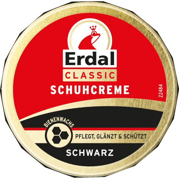 Крем для обуви классический черный Erdal, 75 мл (Германия) -