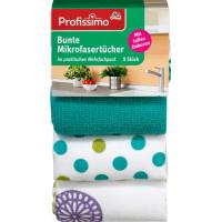 Полотна из микроволокна красочные с мотивом Profissimo, 5 шт (Германия)