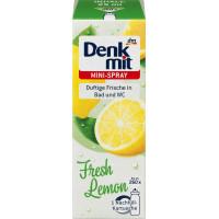 Освежитель воздуха Мини-спрей Свежий Лимон Denkmit, 25 мл (Германия)