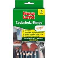 Кольца из кедрового дерева против моли для одежды Nexa Lotte, 6 шт (Германия)