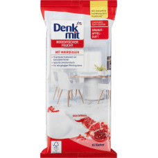 Салфетки к полу с ароматом граната Denkmit, 15 шт. (Германия)