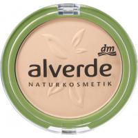 Пудра для макияжа мягкая слоновая кость 10 alverde, 10 g (Германия)