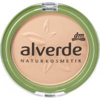 Пудра для макияжа мягкая бархатный песок 20 alverde, 10 g (Германия)