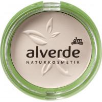 Компактная пудра naturelle 010 alverde, 9 g (Германия)