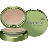Компактный макияж медово-золотой 020 alverde, 9 g (Германия)