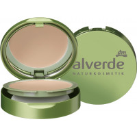 Компактный макияж бежево-розовый 030 alverde, 9 g (Германия)