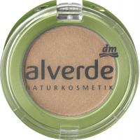 Тени для век Моно обнаженное золото 02 alverde, 2 g (Германия)
