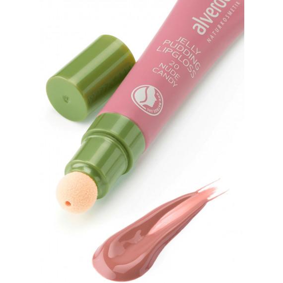 Блеск для губ 20 Nude Candy alverde, 10 ml (Германия) -
