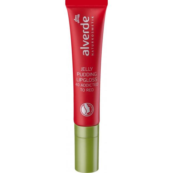 Блеск для губ 40 Зависимый от Красного alverde, 10 ml (Германия) -