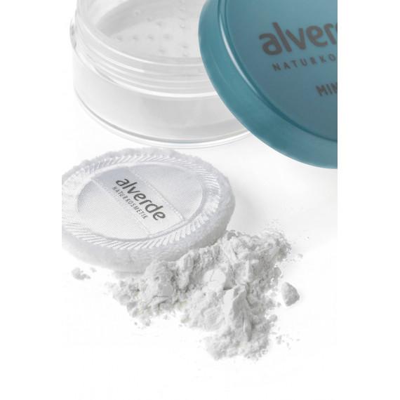 Прозрачная пудра для лица alverde, 10 g (Германия) -