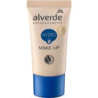 Увлажняющий макияж 10 Fair alverde, 30 мл (Германия)