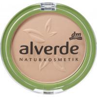 Пудра для макияжа Ashy Nude 40 alverde, 10 g (Германия)