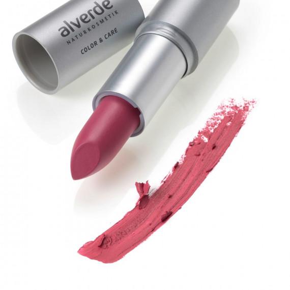 Губная помада Цвет и уход Хорошенький розовый 44 alverde NATURKOSMETIK, 4,6 g (Германия) -