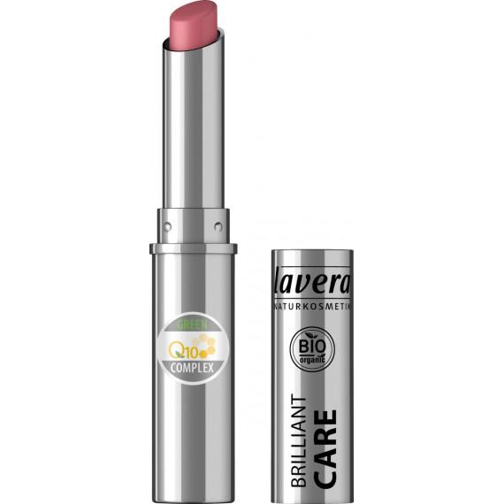 Помада Красивые губы BRILLIANT CARE Q10-Восточная роза 03 Lavera, 1,7 г (Германия) -