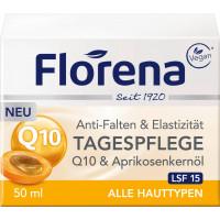 Дневной уход Q10 & масло абрикосового ядра Florena, 50 мл (Германия)