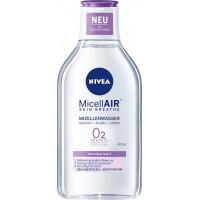 Мицеллярная вода MicellAIR для чувствительной кожи NIVEA, 400 мл (Германия)