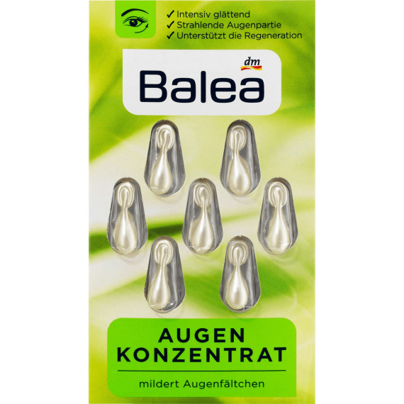 Концентрат под глаза Balea, 7 шт. (Германия) -