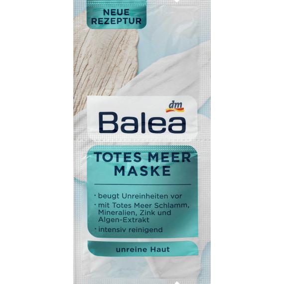 Маска для лица с солями мертвого моря Balea, 2 x 8 ml, 16 ml (Германия) -