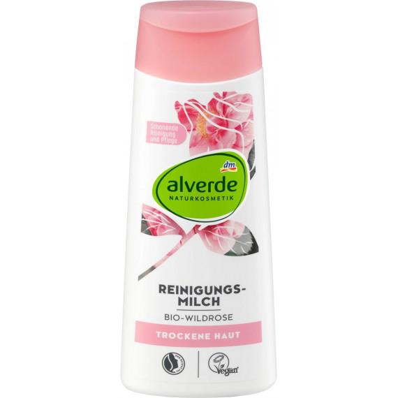 Очищаюче молочко Дика Роза alverde,  200 ml (Німеччина) -