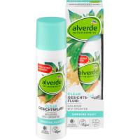 Жидкость для лица Целебная земля Био-Зеленый-Чай alverde, 30 ml (Германия)