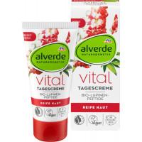 Дневной питательный крем Люпин-пептиды alverde, 50 ml (Германия)