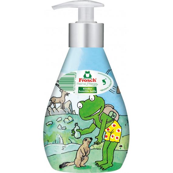 Рідке мило дитяче Чутливе Frosch, 300 ml (Німеччина) -