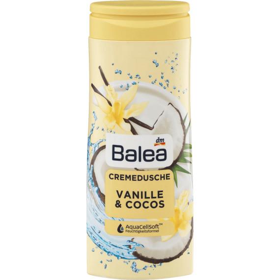 Гель-крем для душа ваниль и кокос Balea, 300 мл. (Германия) -