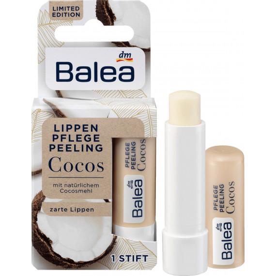 Скраб для губ Кокосовый Пилинг Balea, 4,8 g (Германия) -