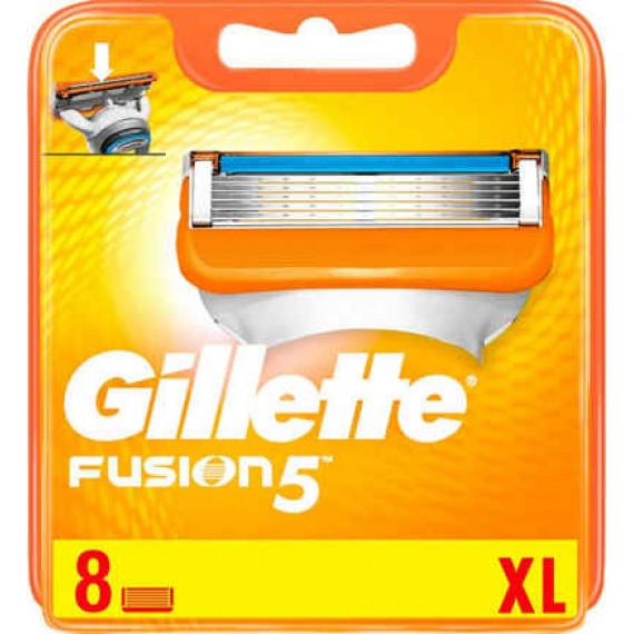 Лезвия для бритвы Gillette Fusion, 8 шт. (Германия) -