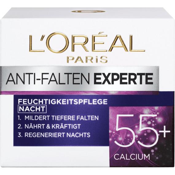 Крем против морщин Ночной Эксперт 55+ L'ORÉAL PARIS, 50 ml (Германия) -
