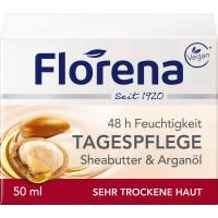 Дневной крем Масло Ши Florena, 50 ml (Германия)