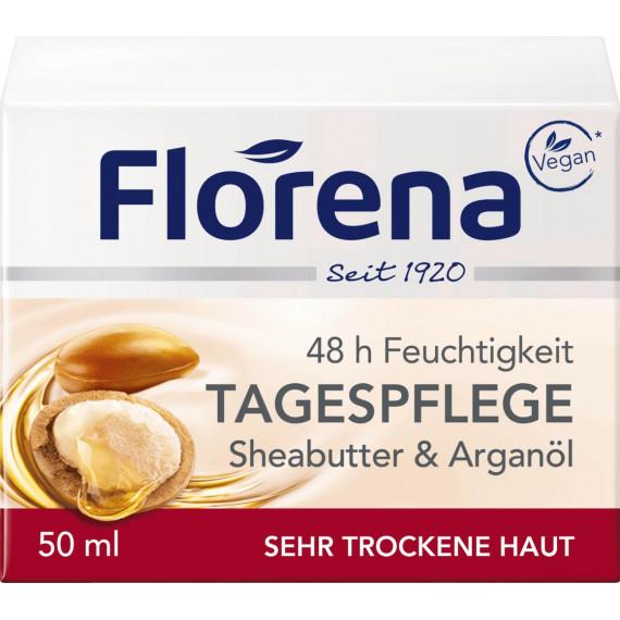 Дневной крем Масло Ши Florena, 50 ml (Германия) -