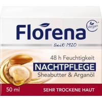 Нічний крем Масло Ши Florena, 50 ml (Німеччина)