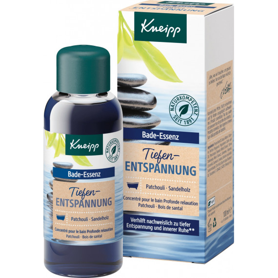 Масло для ванны Глубокая релаксация Kneipp, 100 мл (Германия) -
