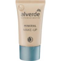 Минеральный макияж naturelle 01 alverde NATURKOSMETIK, 30 ml. (Германия)