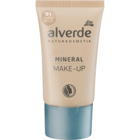 Минеральный макияж naturelle 01 alverde NATURKOSMETIK, 30 ml. (Германия) -