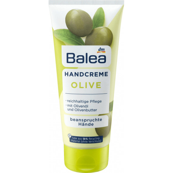 Крем для рук оливки Balea, 100 ml. (Німеччина) -