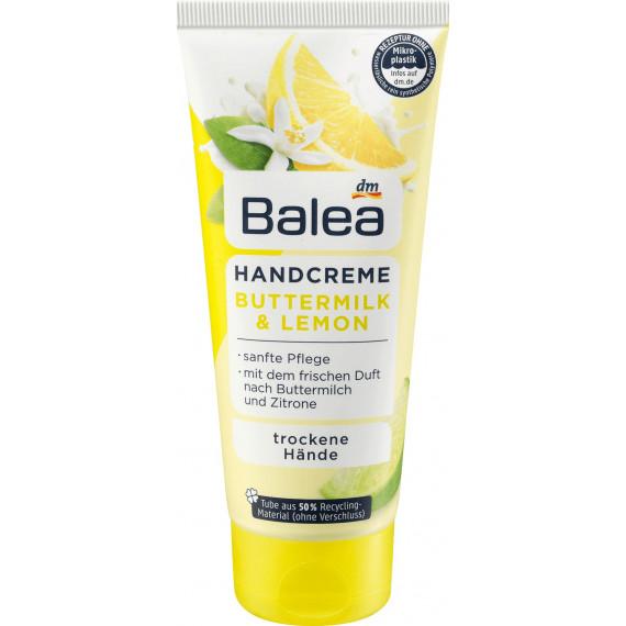 Крем для рук с лимонным маслом Balea, 100 ml. (Германия) -