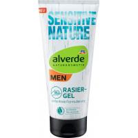 Гель для гоління Sensitive Nature alverde MEN, 200 ml (Німеччина)