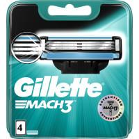 Леза для бритви Gillette, 4 шт (Німеччина)