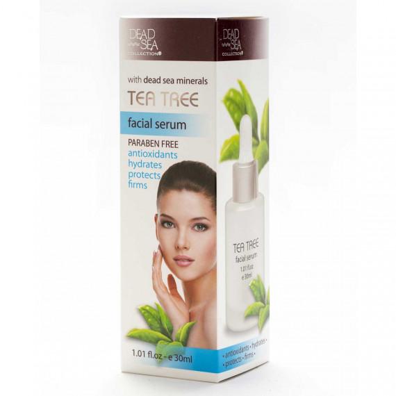 Сыворотка для лица с маслом чайного дерева и минералами Мертвого моря, 50 ml -