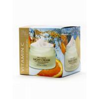 Ночной крем против морщин с витамином С и минералами Мертвого моря, 50 ml