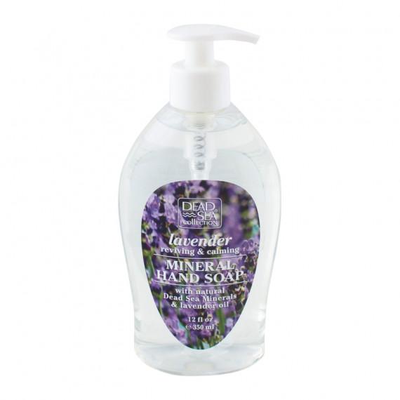 Жидкое мыло с минералами Мертвого моря и маслом лаванды, 350 ml -