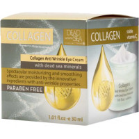 Крем проти зморшок навколо очей з колагеном та мінералами Мертвого моря, 30 ml