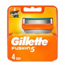 Лезвия для бритвы Gillette Fusion, 4 шт. (Германия)