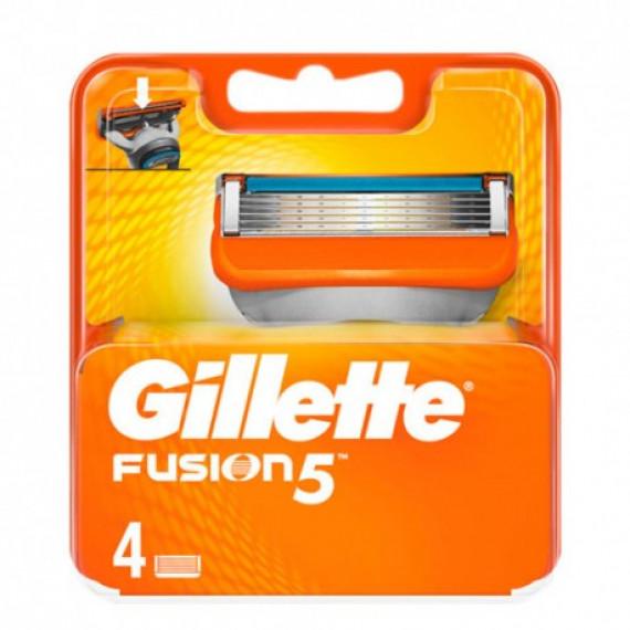 Лезвия для бритвы Gillette Fusion, 4 шт. (Германия) -