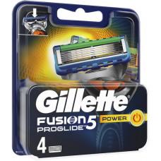 Лезвия для бритвы Gillette Fusion ProGlide Power, 4 шт (Германия)