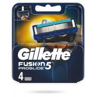 Леза для бритви Gillette Fusion ProGlide, 4 шт (Німеччина)