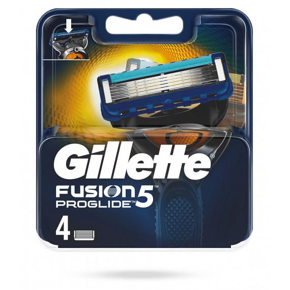 Лезвия для бритвы Gillette Fusion ProGlide, 4 шт (Германия) -
