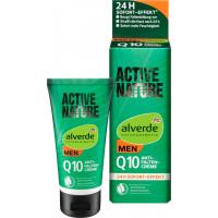 Крем проти зморшок Active Nature Q10 alverde MEN, 50 мл (Німеччина)